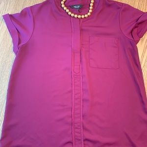 Simply Vera short sleeved blouse